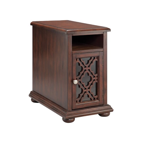 Broadoaks End Table With Storage By World Menagerie