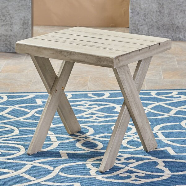 Heatherfield Side Table by Bay Isle Home