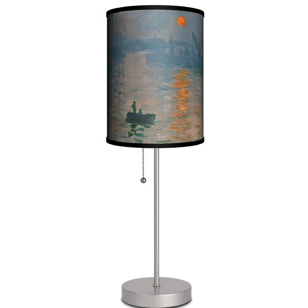 Pangkal Pinang Impression Soleil Levant By Claude Monet 19 Table Lamp by Ebern Designs