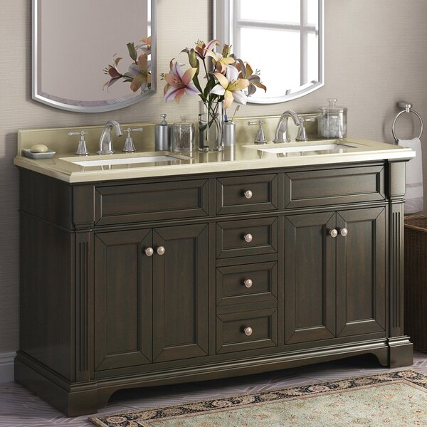 Bryon 60 Double Bathroom Vanity Set by Lanza