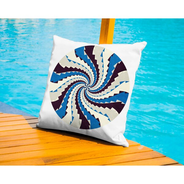 Just A Tought Outdoor Throw Pillow by Americanflat