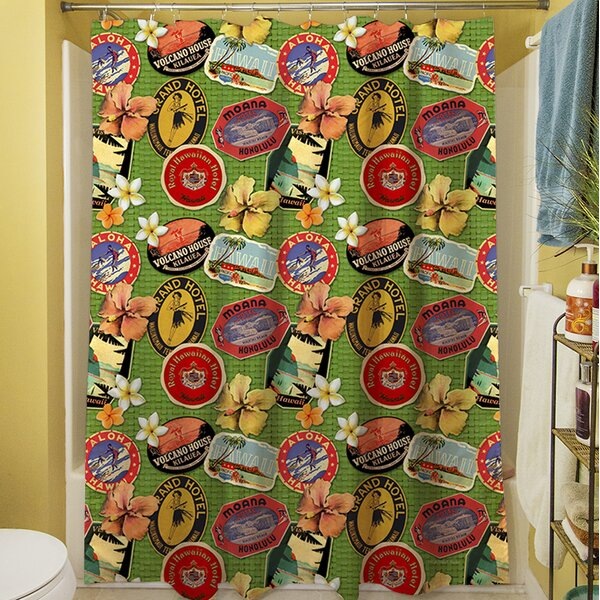 Aloha Shower Curtain by Manual Woodworkers & Weavers