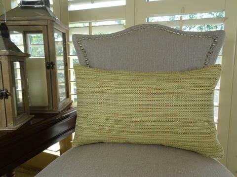 Honeysuckle Handmade Throw Pillow by Plutus Brands