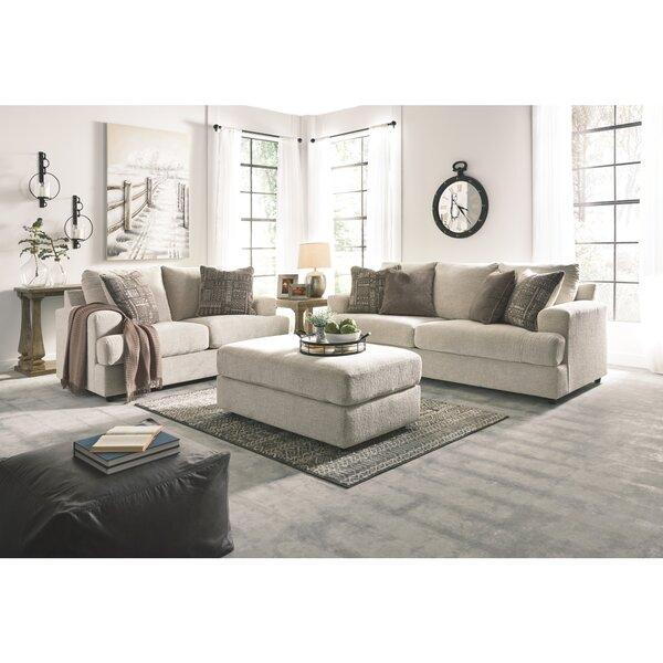 Top Reviews Soletren 3 Piece Configurable Living Room Set by Brayden Studio