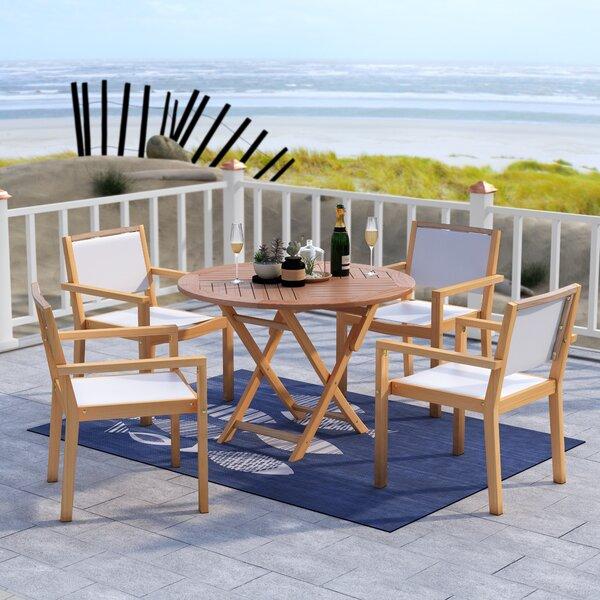 Claris 5 Piece Dining Set by Beachcrest Home