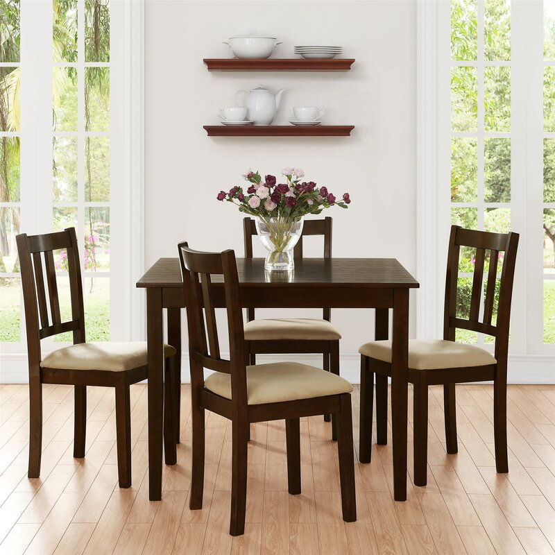 Owings 5 Piece Dining Set: table