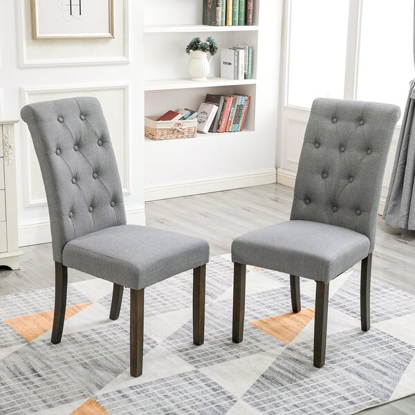 Asnta Tufted Upholstered Dining Chair (Set Of 2) By Red Barrel Studio