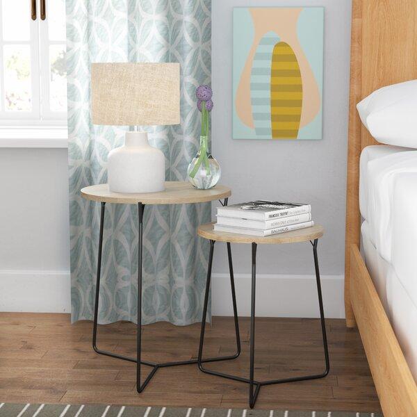 Mae 2 Piece Nesting Tables by Brayden Studio