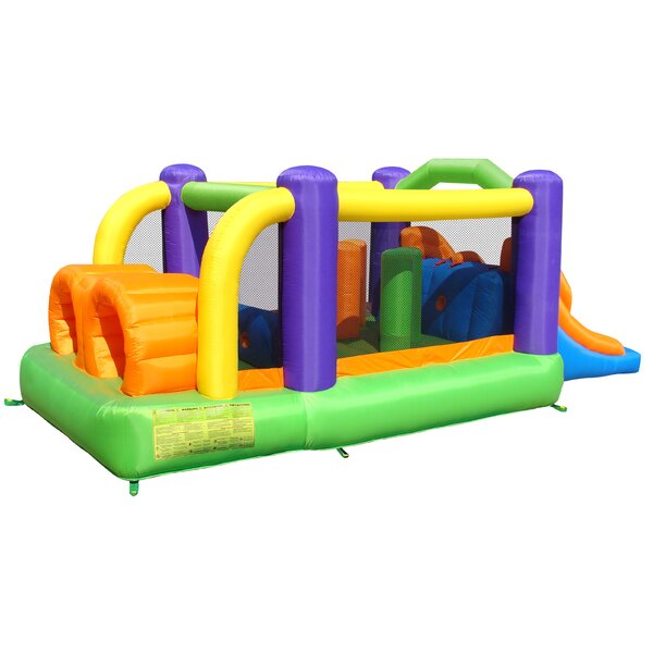 Inflatable Obstacle Pro-Racer Bounce House by Bounceland