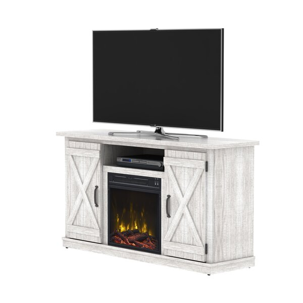 Serein TV Stand for TVs up to 55 with Fireplace by Laurel Foundry Modern Farmhouse