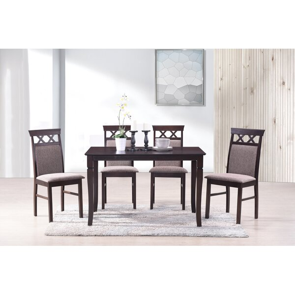Banfield 5 Piece Dining Set by Gracie Oaks