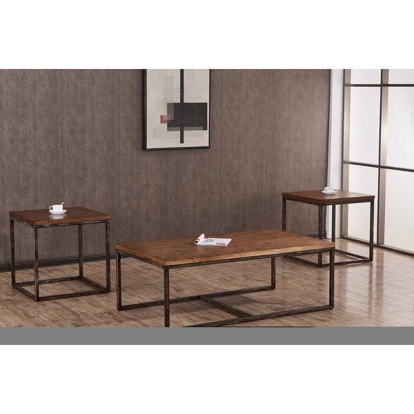 Wellman 3 Piece Coffee Table Set By Williston Forge