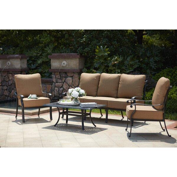 Melchior 4 Piece Sofa Set with Cushions by Astoria Grand