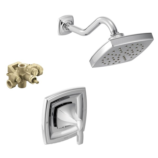 Voss Pressure Balanced Shower Faucet with Rough-in Valve and Moentrol by Moen Moen