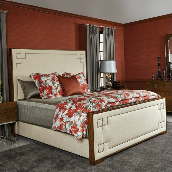 Soho Luxe Upholstered Standard Bed by Bernhardt