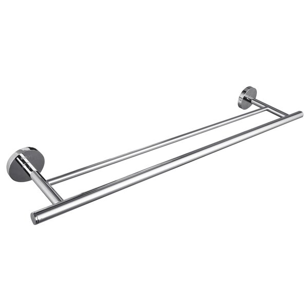 24.8 Wall Mounted Double Towel Bar by UCore