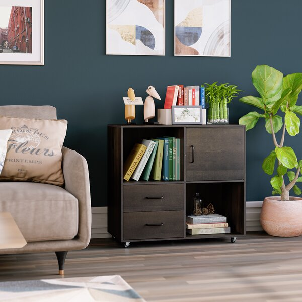 Itchington 2-Drawer Mobile Lateral Filing Cabinet