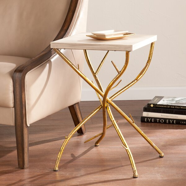 Nevaeh Branch End Table by Wildon Home®