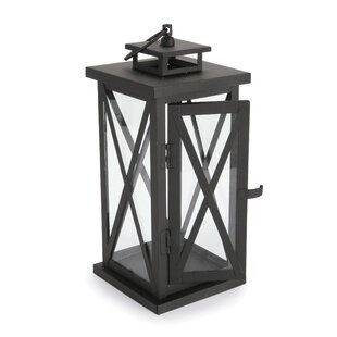 Read Reviews Powder Coat Metal Lantern By Charlton Home