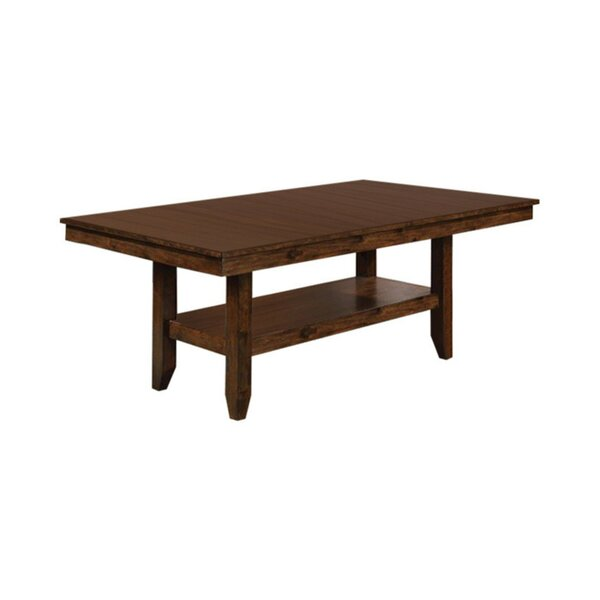 Kratochvil Solid Wood Dining Table by Alcott Hill