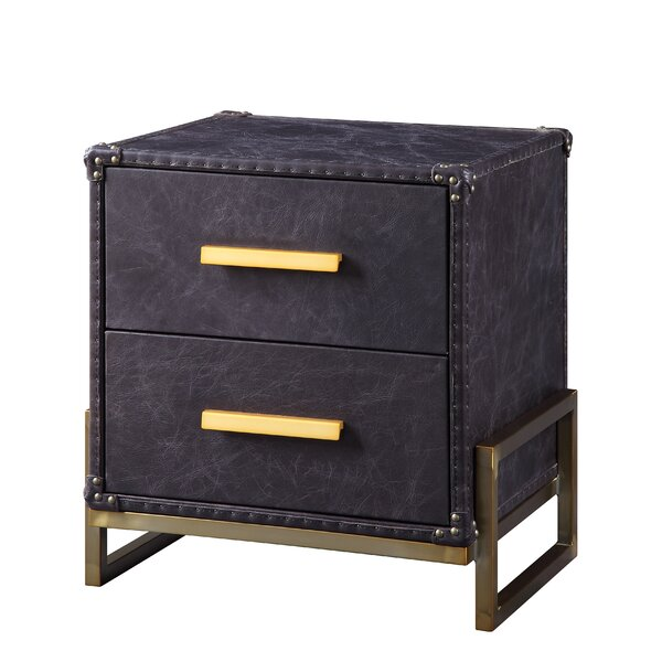 Landis End Table with Storage by 17 Stories