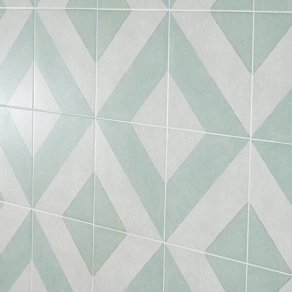 Anya Diagonal 9 x 9 Porcelain Field Tile