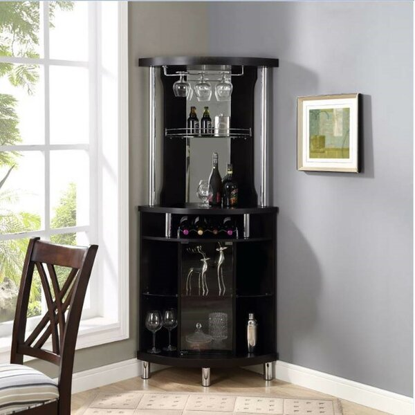 Reinhold Wine Bar With Wine Storage By Latitude Run.