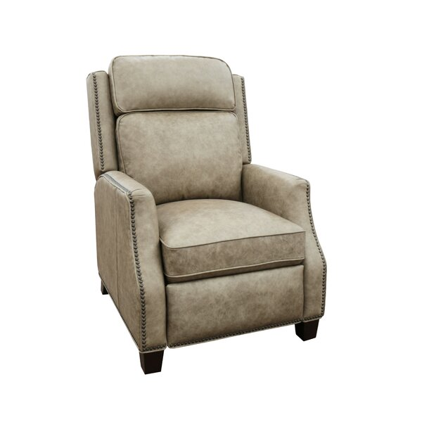 Kathi Leather Manual Recliner By Darby Home Co