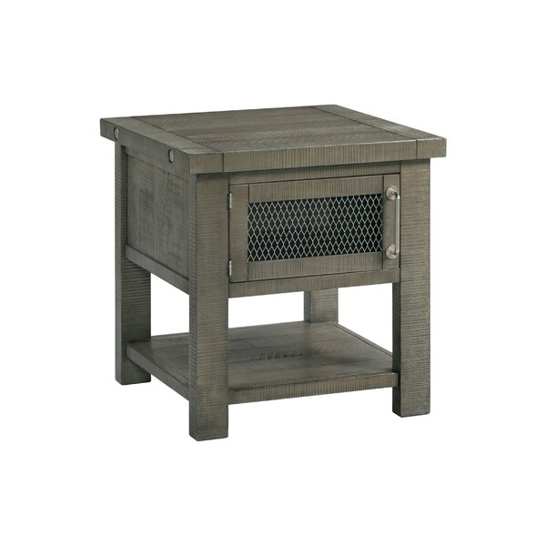 Darley End Table with Storage by Gracie Oaks