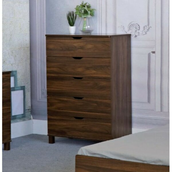 Marcus 5 Drawer Chest by Ebern Designs