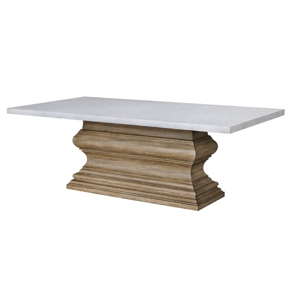 Dual-Tone Dining Table by Ophelia & Co.