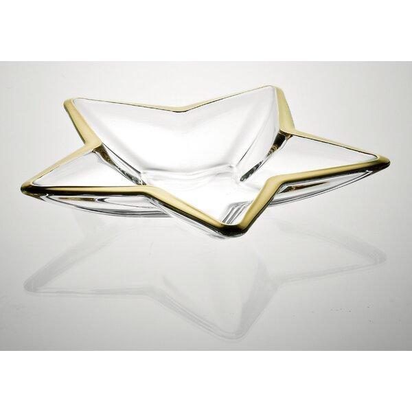 Stella Centerpiece Platter by Majestic Crystal