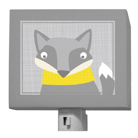 Happy Fox Night Light by Oopsy Daisy