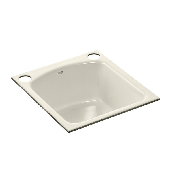 Napa Under-Mount Bar Sink with 2 Oversize Faucet Holes by Kohler