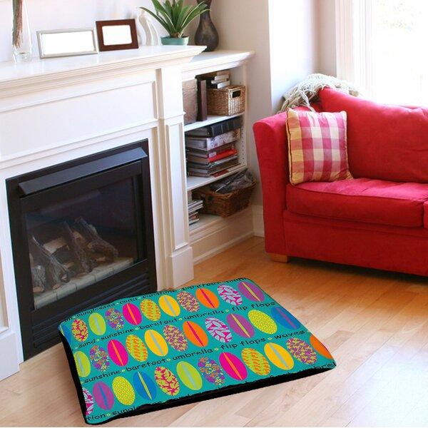 Surfs Up 1 Indoor/Outdoor Pet Bed by Manual Woodworkers & Weavers