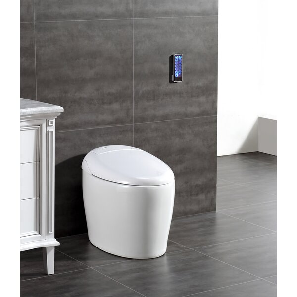 Tuva Smart Toilet 20 Floor Mount Bidet by Ove Deco