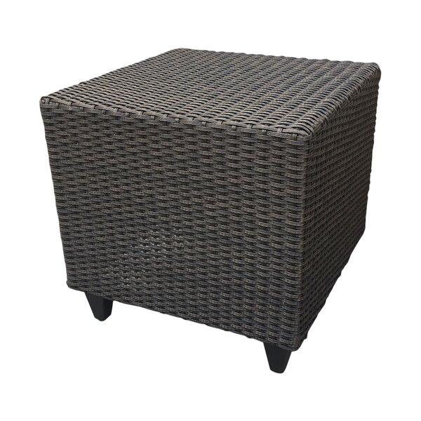 Vickey Wicker Side Table by Darby Home Co