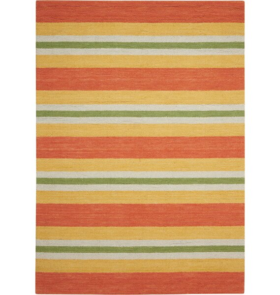 Oxford Handmade Orange/Yellow Area Rug by Barclay Butera