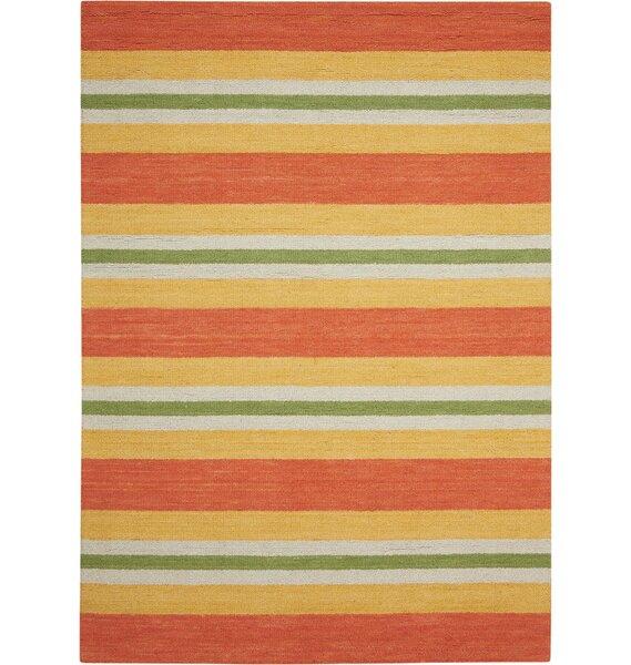 Oxford Handmade Orange/Yellow Area Rug by Barclay Butera