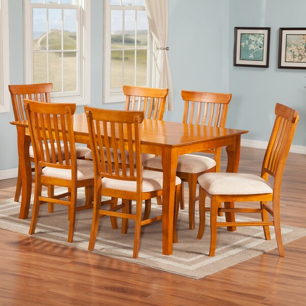 Newry 7 Piece Solid Wood Dining Set by Darby Home Co