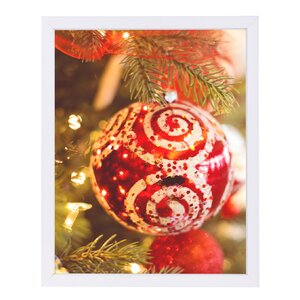 'Christmas Ornament' Graphic Art Print by East Urban Home