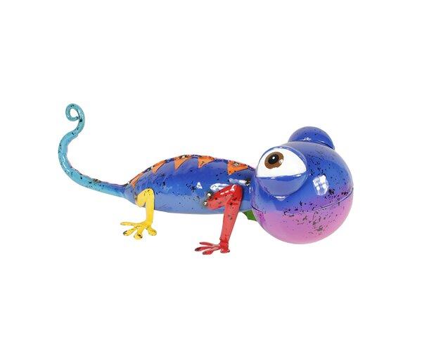 Speckled Metal Gecko Figure by Northlight Seasonal