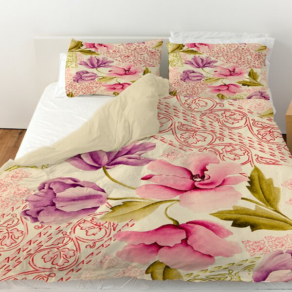 Tulips and Lace Duvet Cover by Manual Woodworkers & Weavers