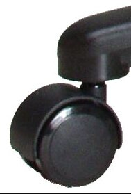 Casters with Reverse Brake