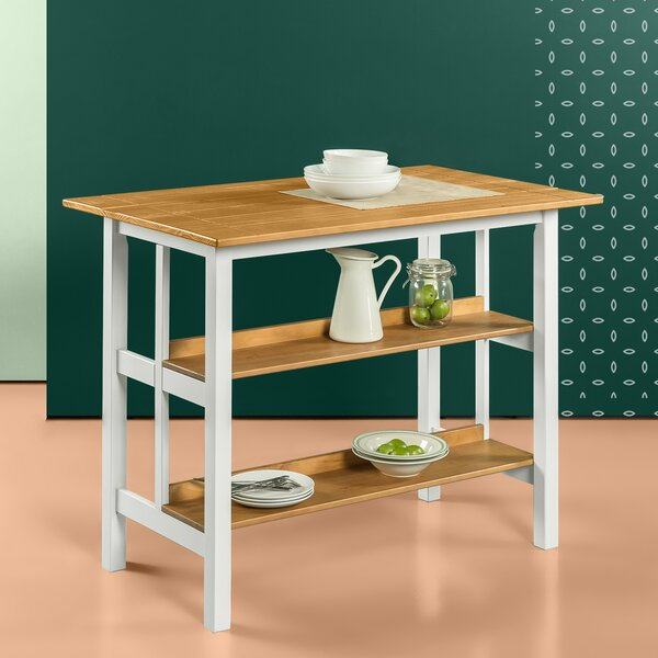 Stetler Kitchen Island Prep Table by August Grove