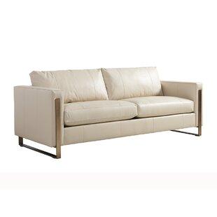 Shadow Play Leather Sofa