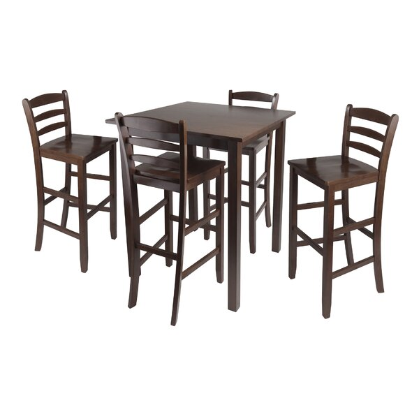 Modern Auburn Road 5 Piece Counter Height Pub Table Set By Red Barrel Studio New Design