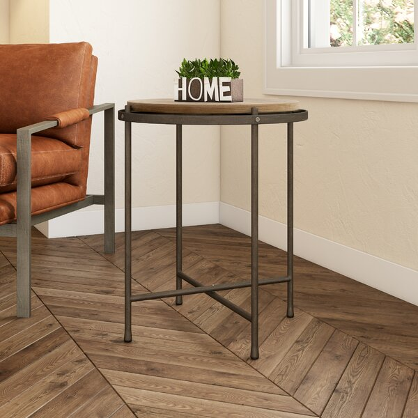 Trainor End Table By Williston Forge