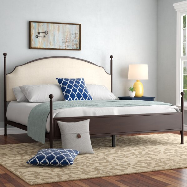 Rockledge Upholstered Standard Bed by Three Posts