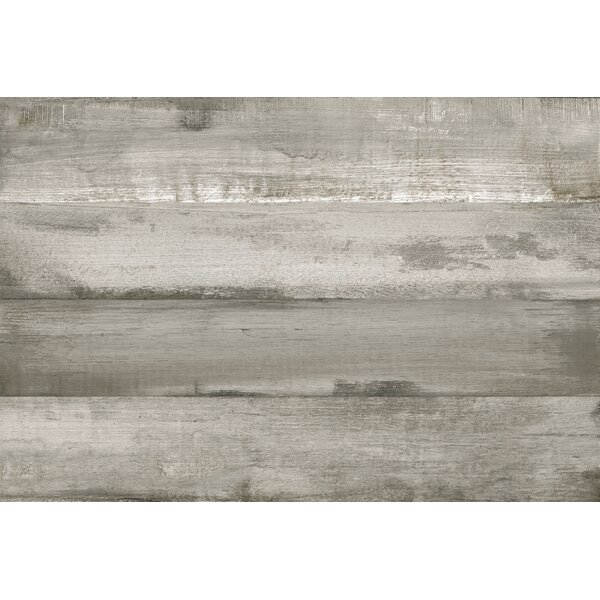 Timber Glazed Porcelain Wood Look Tile in Gray by Multile